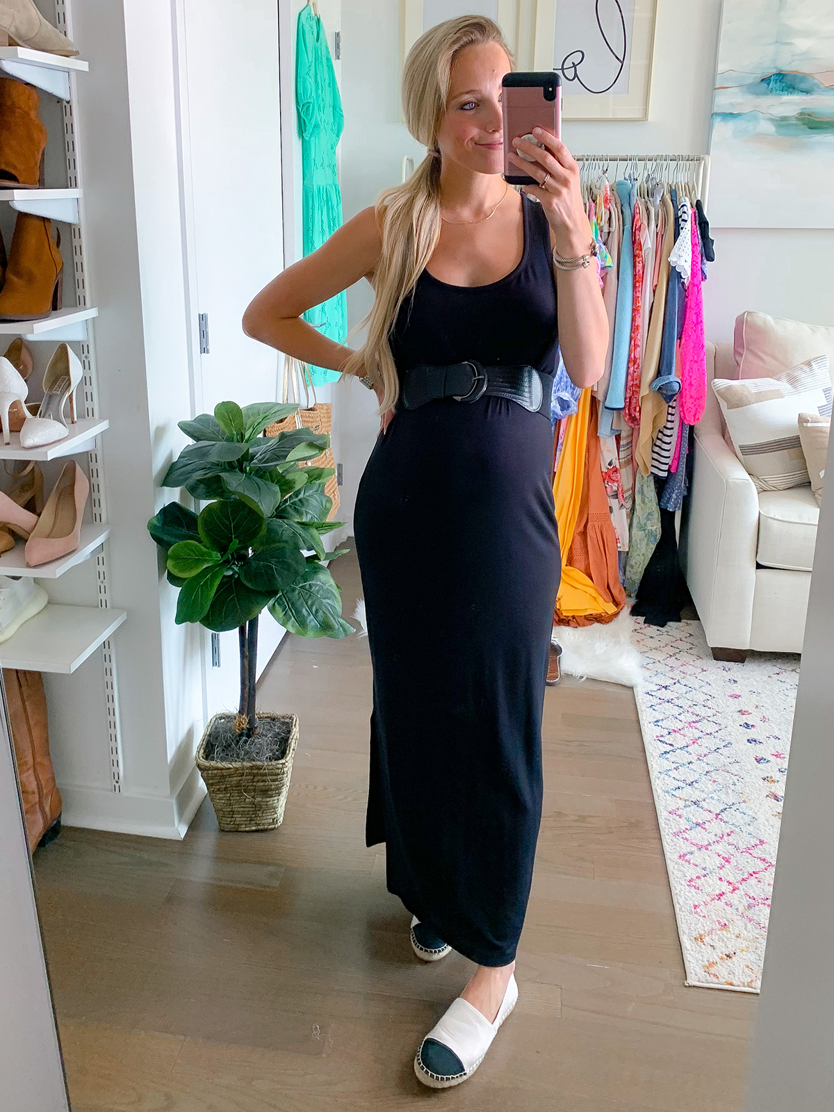 Supersoft Terry Racerback Maxi Dress
