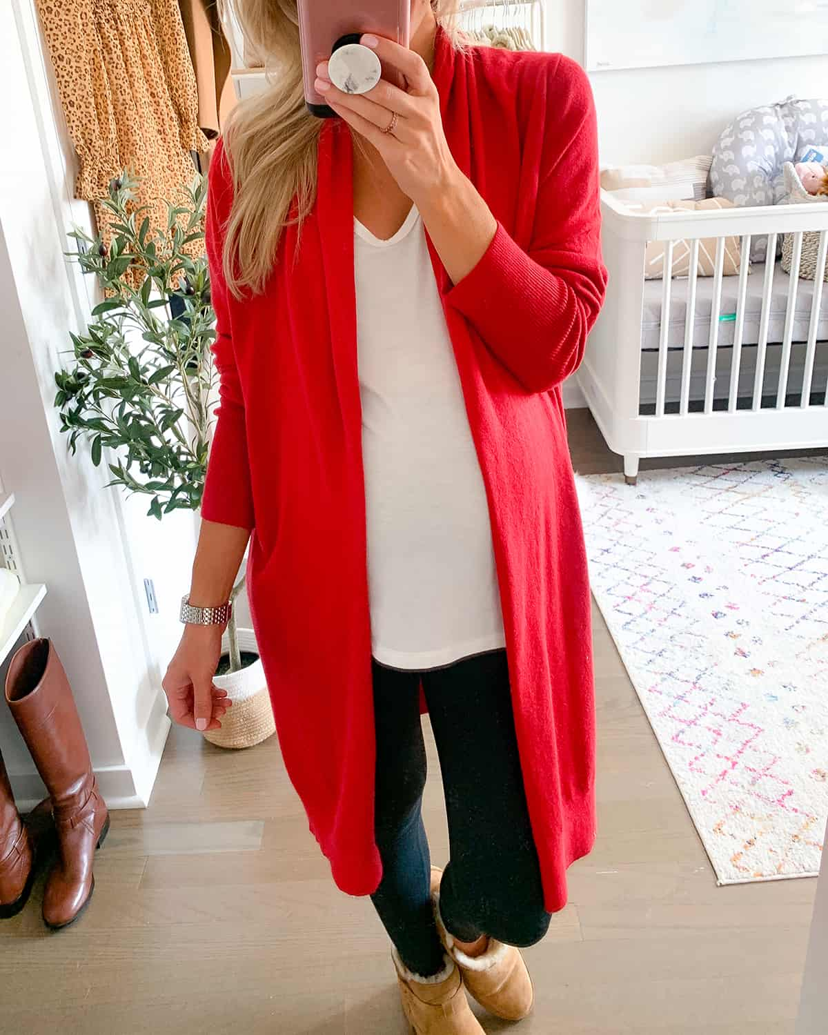 Leith Cozy Long Cardigan