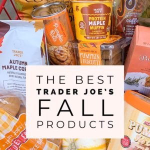 Best Trader Joe's Fall Products