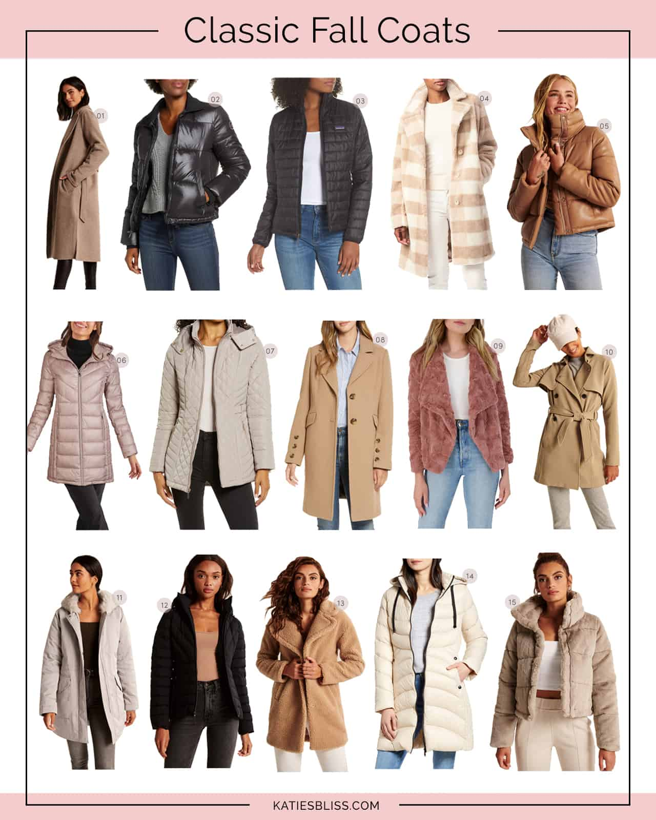 Katies Bliss Classic Fall Coats