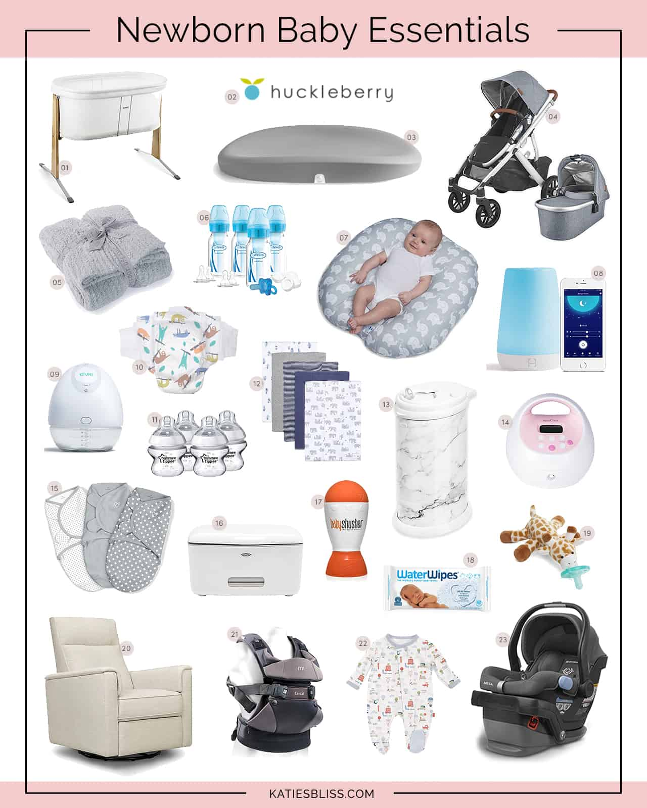 Katies Bliss Newborn Baby Essentials