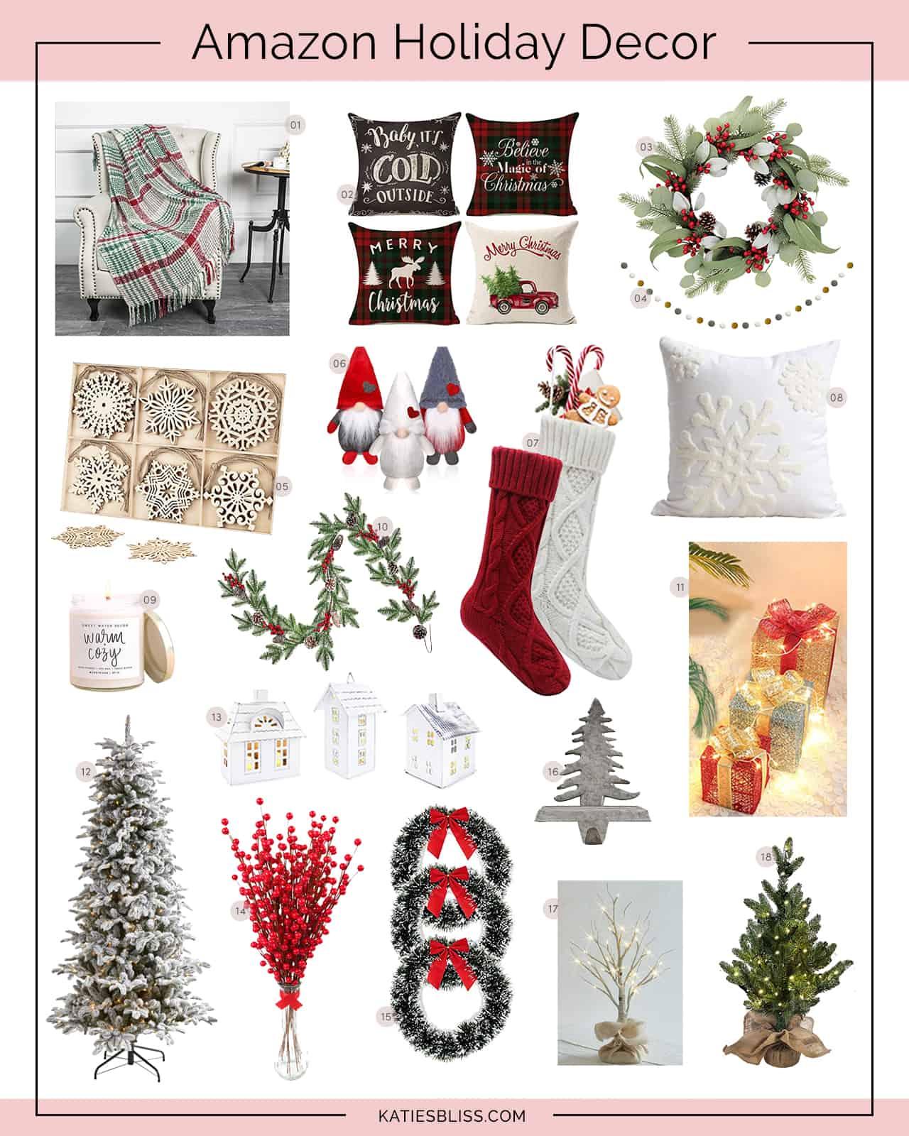 Katies Bliss Amazon Holiday Decor