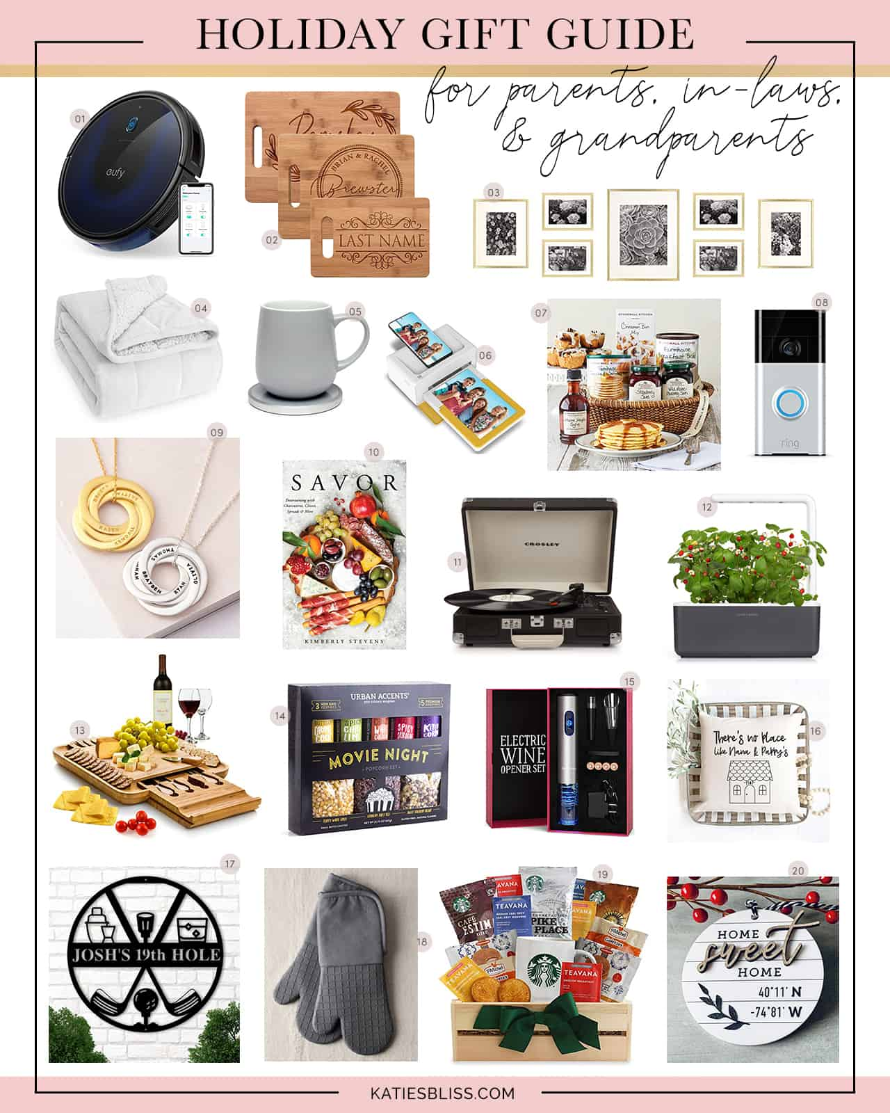 Katies Bliss Gift Guide For Parents Grandparents In Laws