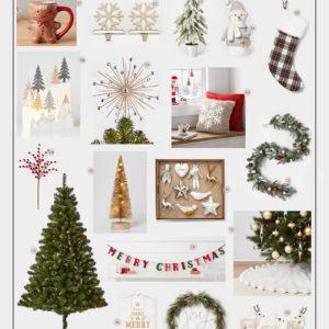 Katies Bliss Target Holiday Decor