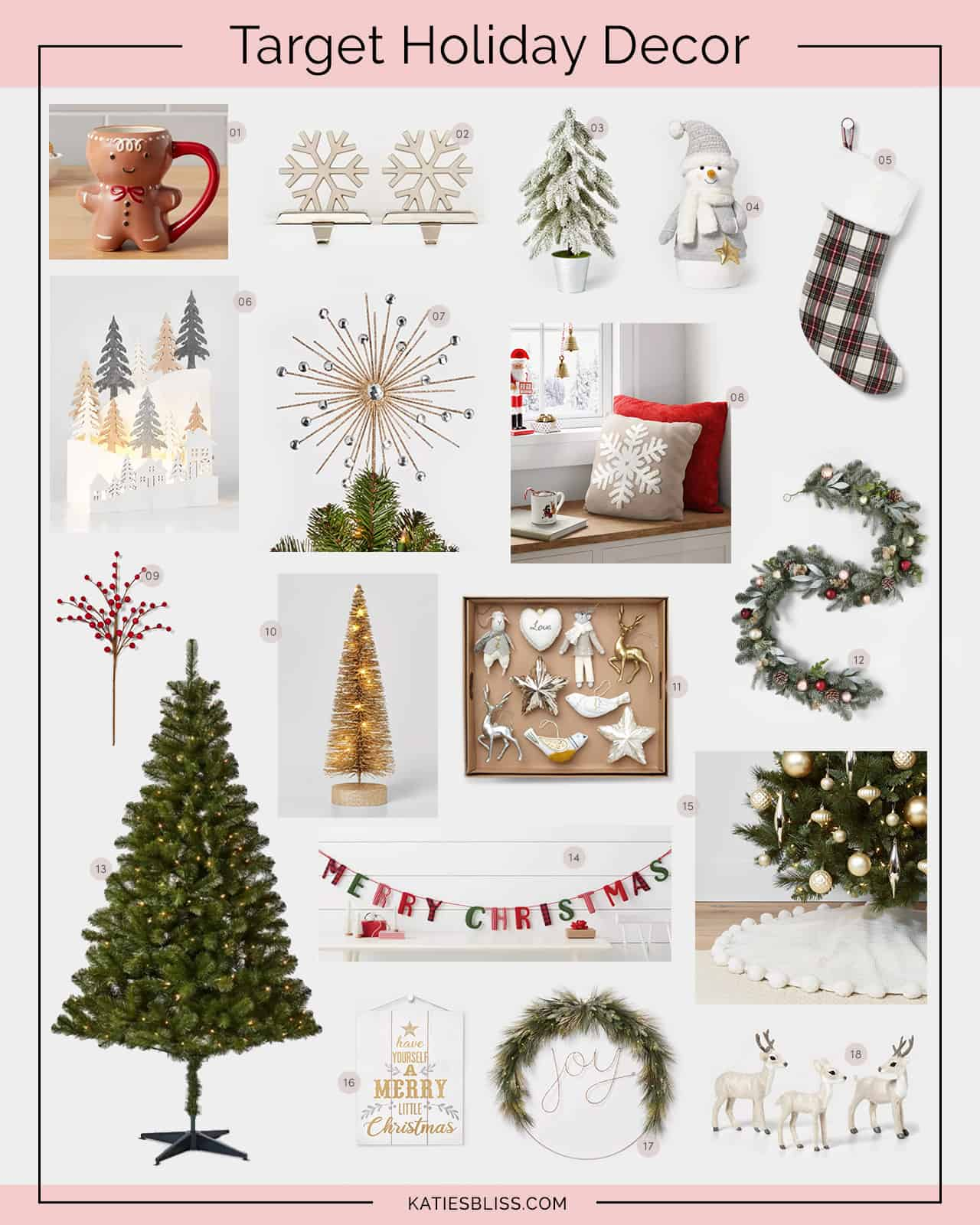 Katies Bliss Target Holiday Decor
