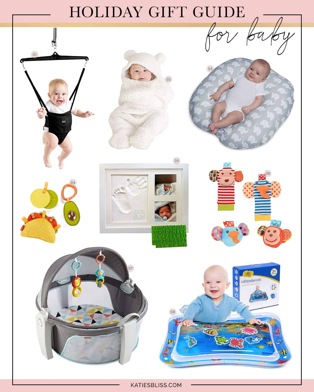 Katies Bliss Gift Guide For Baby