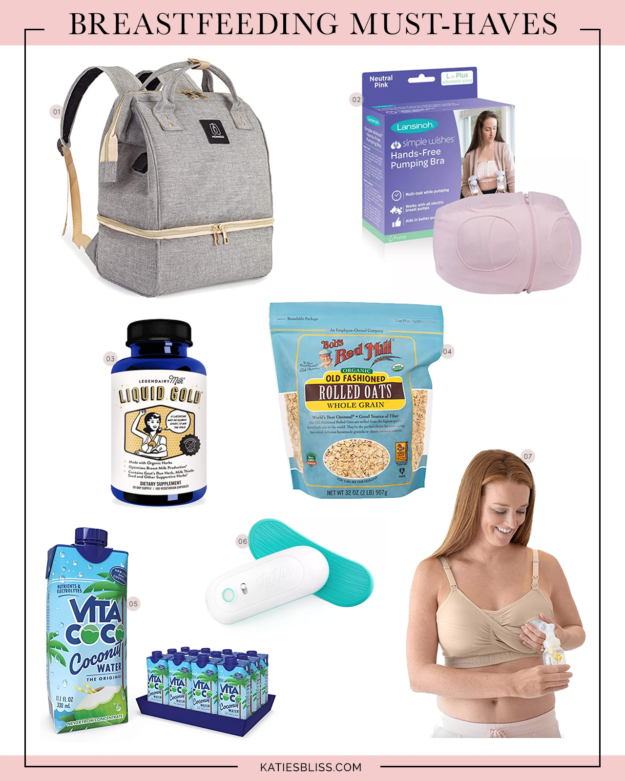 Katies Bliss Breastfeeding Must Haves