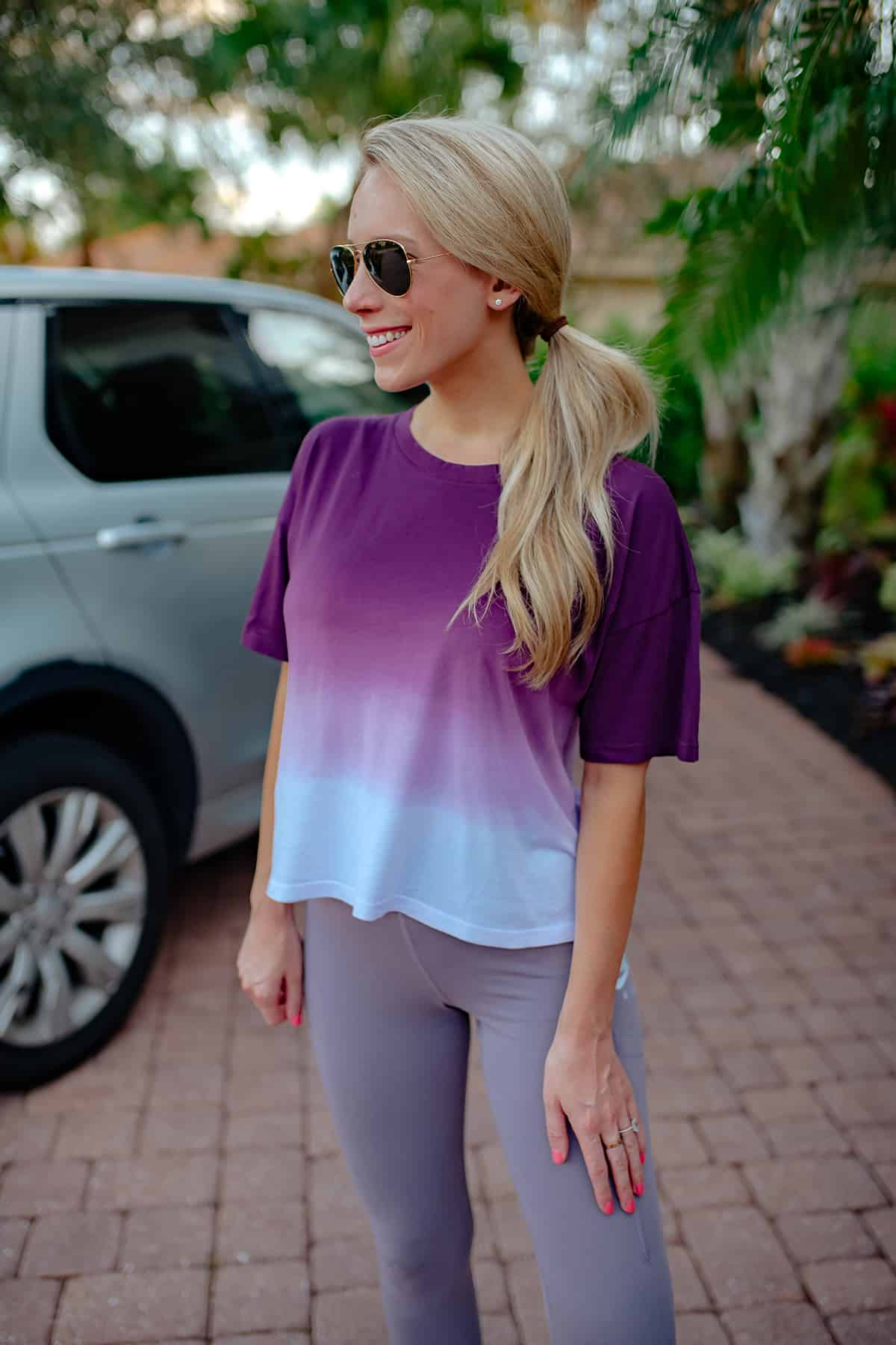 Purple Ombre T-Shirt