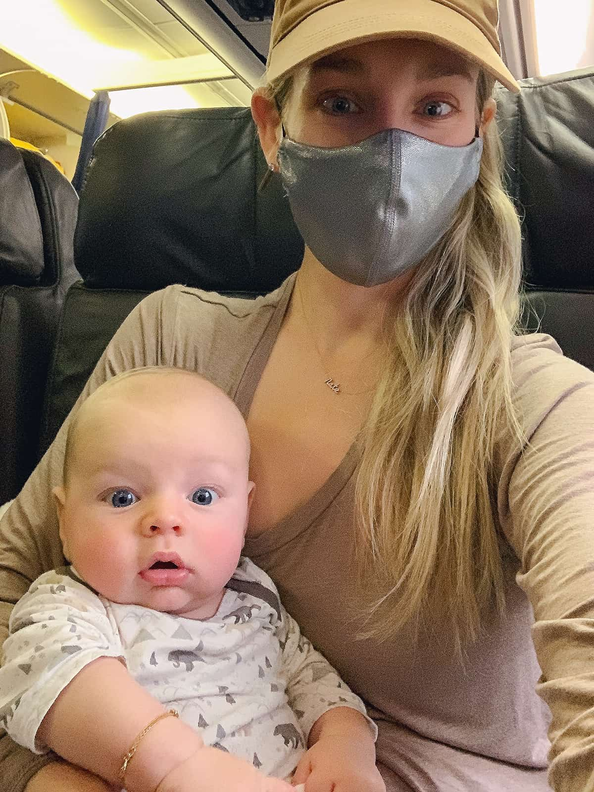 Katies Bliss How To Fly With A Newborn Baby