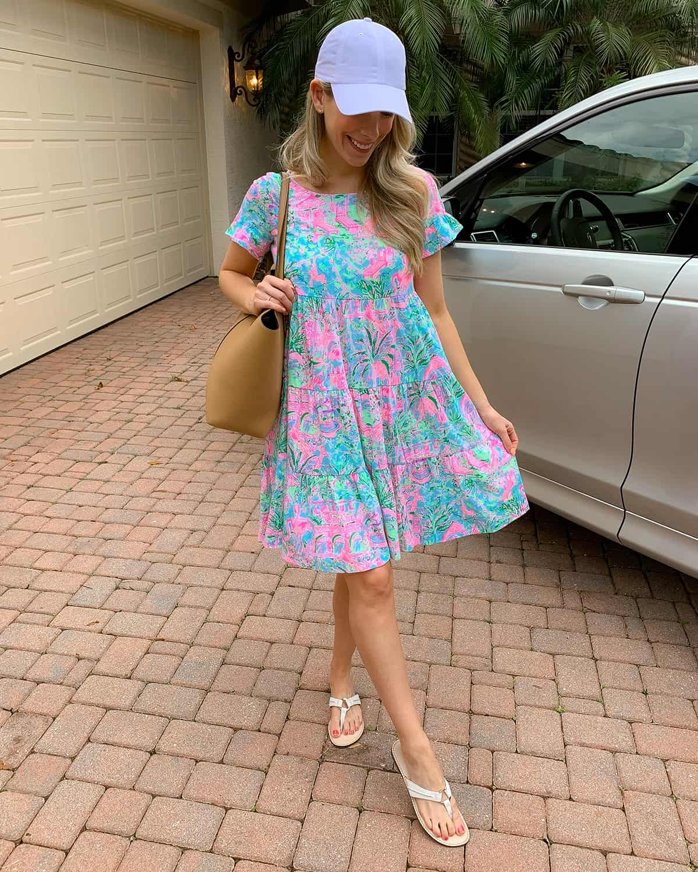 Lilly Pulitzer Jodee Short Sleeve Swing Dress