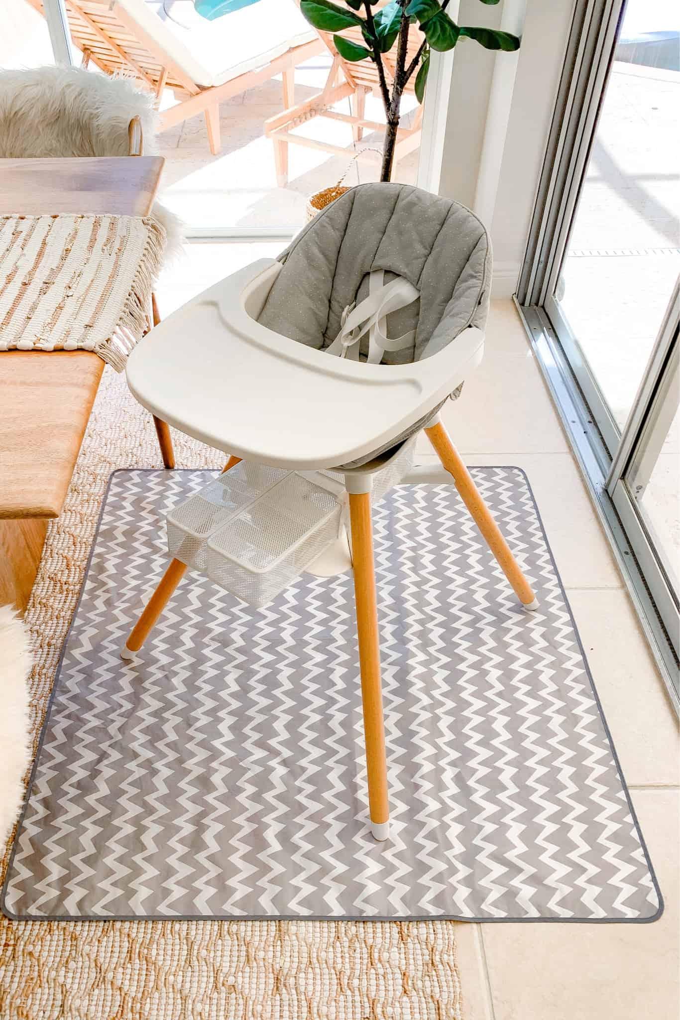 Lalo High Chair Splat Mat