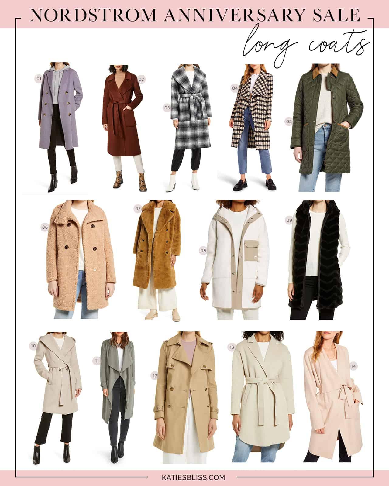 Nordstrom Anniversary Sale Long Coats