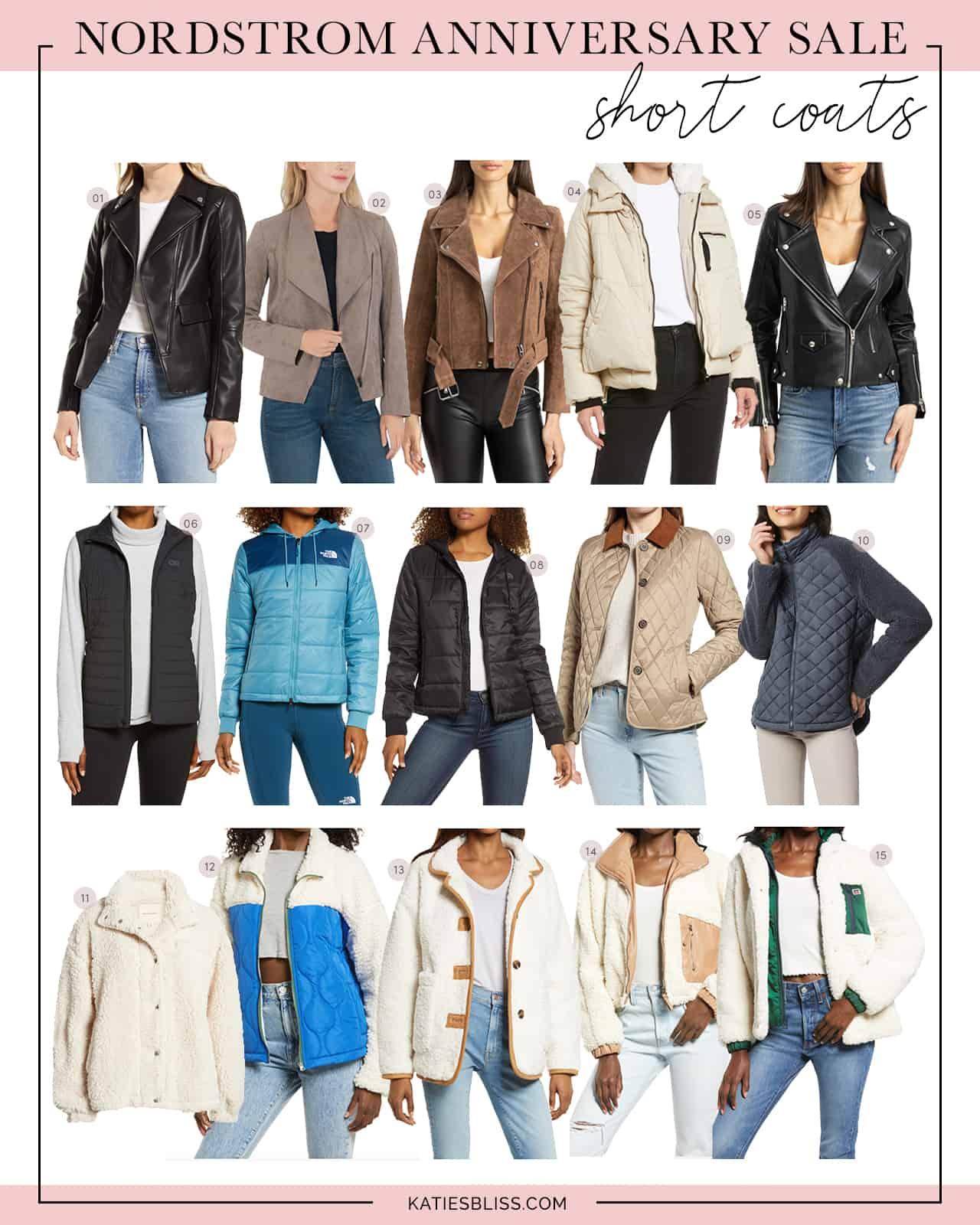 Nordstrom Anniversary Sale Short Coats