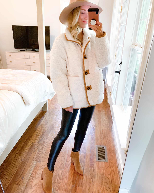 Katies Bliss Faux Fur Jacket