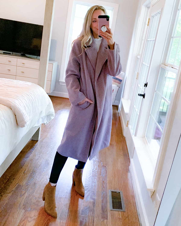Katies Bliss Nordstrom Womens Notch Collar Textured Coat