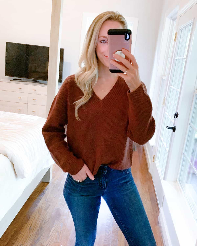 Katies Bliss Open Edit Rib Stitch Sweater