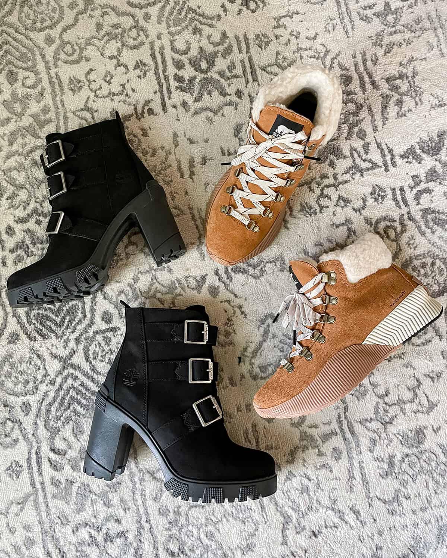 Sorel Waterproof Boots Timberland Booties